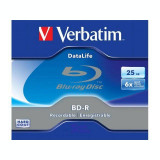 Mediu optic Verbatim BD-R SL Datalife 25GB 6X Jewel Case No ID