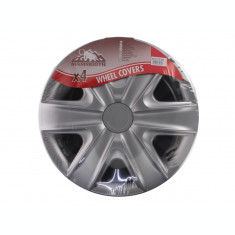 Set capace roti Hexan Silver 14 inch Mammoth 4buc
