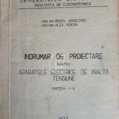 Indrumar de proiectare pentru aparatele electrice de inalta tensiune, partea I