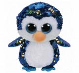Pinguinul Payton Cu Paiete - plus Ty, 24 CM, Boos