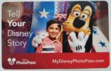 Pentru colectionari card plastic Disney World