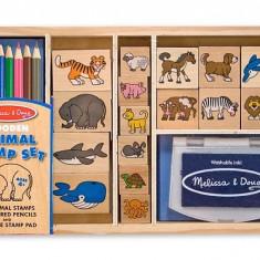 Set de stampile cu Animale Melissa and Doug