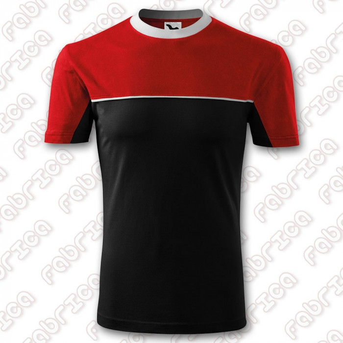 Colormix - tricou bicolor gros din bumbac