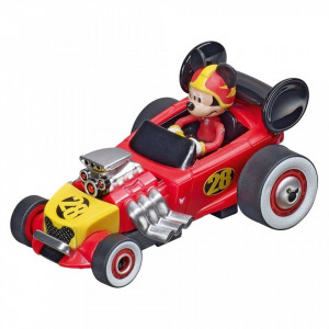 Circuit electric masinute Mickey Mouse si Donald Duck Carrera First 2,4 m