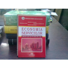 Economia serviciilor - Aplicatii si studii de caz - Marian Zaharia Roxana Elena Stan Marian-Florin Busuioc