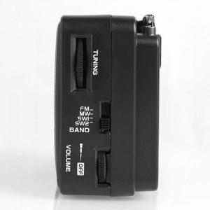 Radio portabil FM/MW/SW1/SW2, 15W, difuzor 4 Ohmi, control volum, Leotec