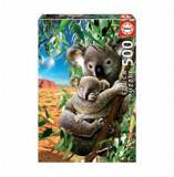 Puzzle Koala and cub, 500 piese, Educa
