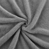 Patura ,220 x 240 cm, 280g/m², 30 °C, poliester, gri inchis