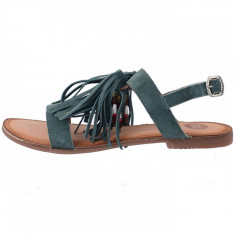 Sandale dama, din piele naturala, Gioseppo, 29267-N1-12, turcoaz