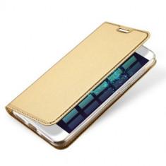 Husa Huawei P9 Lite 2017 - DUX DUCIS Book Type Gold