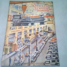 REVISTA STIINTE SI TEHNICA PENTRU TINERET NR.21/IANUARIE 1951