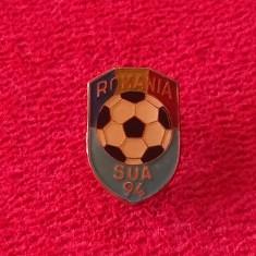 Insigna fotbal - ROMANIA la Campionatul Mondial SUA 1994