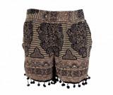 Pantaloni scurti dama Oriental Pom Pom ONE SIZE