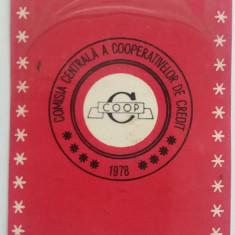 CCO - CALENDARE FOARTE VECHI - ANUL 1978 - NR 4