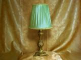 Veioza bronz dore stil Baroc Victorian colectie cadou vintage