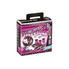 Kit party Monster High, Amscan 552372, Set 51buc