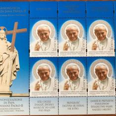 Polonia, religie, canonizare Papa Ioan Paul al II-lea, bloc 2014