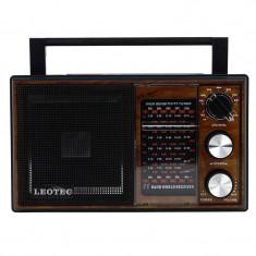 Radio portabil clasic Leotec LT-2015 Maro