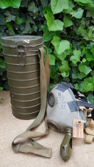 Masca de gaze romaneasca, WW2, fara filtru. foto
