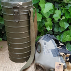 Masca de gaze romaneasca, WW2, fara filtru.