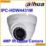 Camera dome IP Dahua IPC-HDW4431M 4MP, 2.8mm, IR 30m, IP67, PoE, functii IVS, WDR 120dB SafetyGuard Surveillance