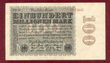 Bancnota Germania  -  REICHSBANKNOTE   - 100.000.000 MARK  1923 #2