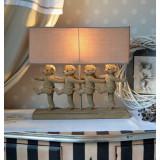 Lampa de masa cu patru ursuleti CW034, Veioze