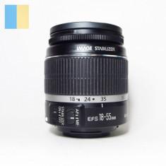 Obiectiv Canon Zoom Lens EF-S 18-55mm f/3.5-5.6 IS montura Canon EF mount