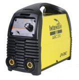 Aparat de sudura Intensiv 53002 Invertor MMA si TIG 230V ARC 200 VRD Galben