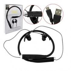 Casti tip Sport cu Microfon Incorporat si magnet, Bluetooth 4.2, V88