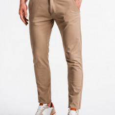 Pantaloni premium, casual, barbati - P830-bej