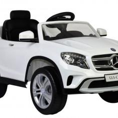 Masinuta electrica Mercedes-Benz GLA Class, alb