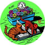 Coaster- pisici, flori, cărți