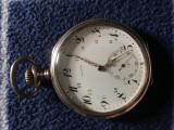 Ceas buzunar Zenith argint 52 mm predare personala, Goer