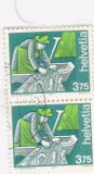 Helvetia serie Oblit. michel  1413, Stampilat