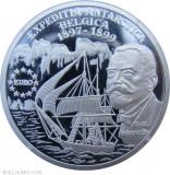 ROMANIA....100 lei 1999...Emil Racovita, expeditie ANTARTICA...argint PROOF