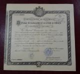 Diploma 1895 Universitatea Bucuresti , semnatura Titu Maiorescu , bacalaureat