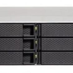 NAS Qnap TS-1253BU-4G, 12 Bay-uri, Procesor Intel® Celeron® J3455 quad-core 1.5 GHz, 4 GB DDR3L (Negru)