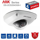 Cumpara ieftin Camera supraveghere video IP dome Hikvision 4MP DS-2CD2543G0-I, 2.8mm, IR 10m, IP 66, H.265+, PoE, slot card