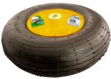 Roata cu anvelopa pneumatica, 4.00-6, D 325mm, pe rulment, int. D 16mm, lung....