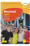 Maximal ART A1.1 - Limba germana. L2 - Clasa 5 - Cartea elevului + CD + DVD - Giorgio Motta