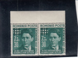 ROMANIA 1940  LP 142 I   CORNELIU  ZELEA   CODREANU  PERECHE   MNH