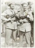 D605 Garzi patriotice romani cu pistol mitraliera cehoslovac Sa 23 Bucuresti