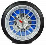 Cumpara ieftin Ceas de perete anvelopa WHEEL CLOCK Blue / Red / Black WZ1539