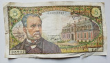 Bancnota Franta 5 franci/ cinq francs 1966