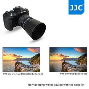 Parasolar, JJC LH-61D, compatibil cu OLYMPUS m.ZUIKO digital 40-150mm