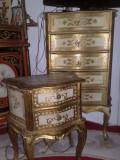 comoda/set 3 comode florentine(baroc/rococo/Ludovic),antice,Italia,100 ani,lemn