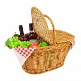 Cos din rachita pentru picnic