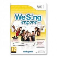 We Sing Encore Solus Wii