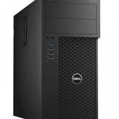 Workstation DELL Precision T3620 Tower, Intel Core i5 6600 3.3 Ghz, 16 GB DDR4, HDD 500 GB SATA, DVDRW, Placa Video NVIDIA Quadro K420, 2 GB GDDR3,